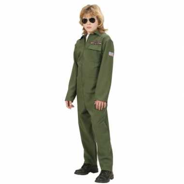 F 16 piloot verkleedkleding kind