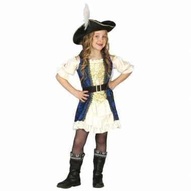 Kapiteinsverkleedkleding piraat meisjes kind