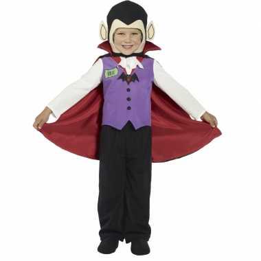 Kind vampier verkleedkleding cape