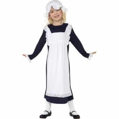Ouderwets weesmeisje verkleedkleding kind