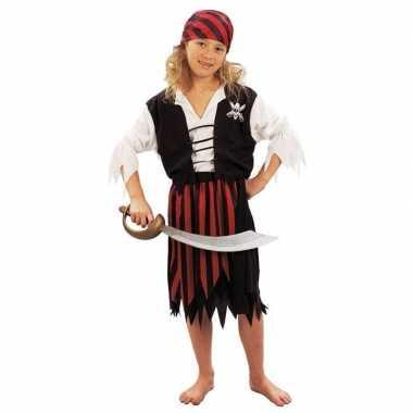 Piraten feestverkleedkleding meiden kind