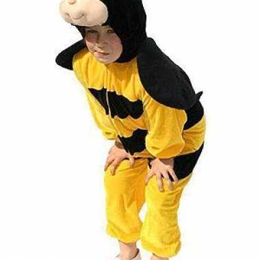 Pluche bijen verkleedkledings kind