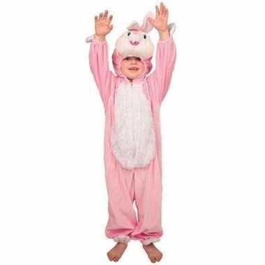 Pluche konijn verkleedkledings kind