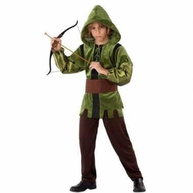 Robin hood verkleed verkleedkleding 3 delig kind