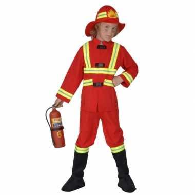 Verkleedkleding brandweer kind