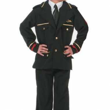 Verkleedkleding piloten jack jongens kind