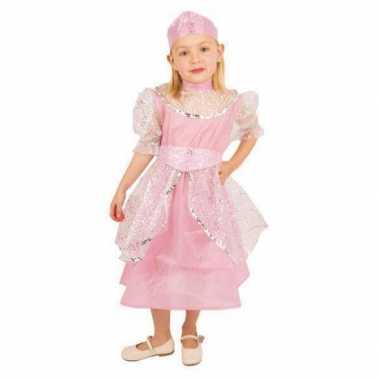 Verkleedkleding  Roze prinsessenjurk kind
