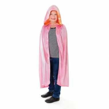 Verkleedkleding  Roze prinsessenmantel meisjes kind